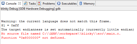 No source file named ... GDB error
